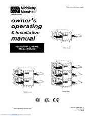 Middleby Marshall PS528G Manuals