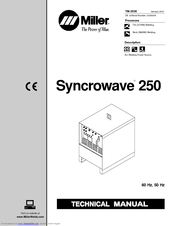 Miller Electric SYNCROWAVE 250 Manuals