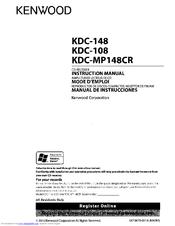 kenwood kdc 108 stereo wiring diagram cisco network symbols instruction manual pdf download