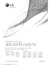 Lg 37LD450 Manuals