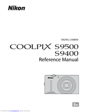 Nikon COOLPIX S9500 Manuals