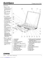 Compaq Armada E500 Series Manuals
