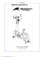Smooth Fitness AGILE DMT X2 Manuals