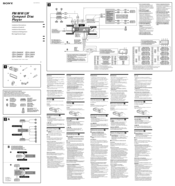 sony cdx ca650x wiring diagram comcast cable tv hookup schematic fm am compact disc player manuals pinout