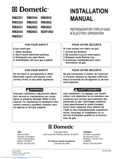 dometic rm2852 wiring diagram nissan pathfinder radio harness rm2862 manuals installation manual