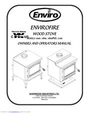 Enviro ENVIROFIRE 1600 Manuals