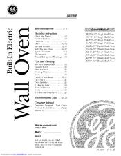 Ge JTP20 Manuals