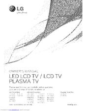 Lg 47LE5500 Manuals