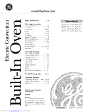 Ge JT915 Manuals