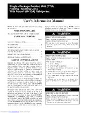 Carrier 48TC series Manuals