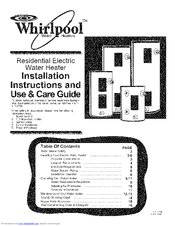 Whirlpool E2F80HD045V Manuals