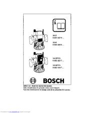 Bosch 1613EVS Manuals