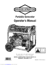 Briggs & Stratton 030467-0 Manuals