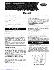 Carrier 24APA Manuals