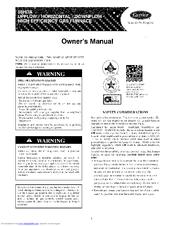 Carrier 58HDX Manuals