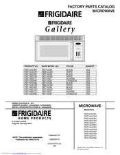 Electrolux Frigidaire FMT148GPB2 Manuals