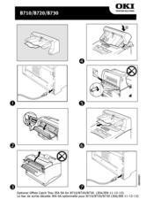 Oki B710n Manuals