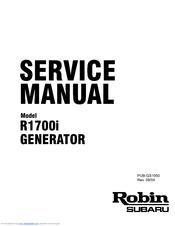 Robin America R1700i Manuals