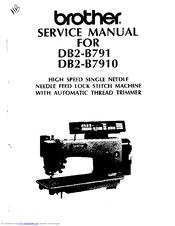 Brother DB2-B791 Manuals
