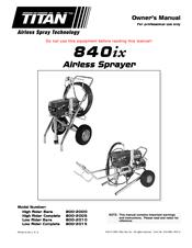 Titan Tool 840ix Manuals