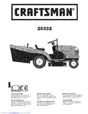 Craftsman 25332 Manuals
