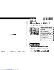 Canon Powershot A570 IS Manuals