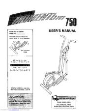 Weslo Momentum 750 Manuals