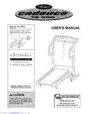 Weslo CADENCE TS300 Manuals
