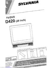 Sylvania SRTD420 Manuals