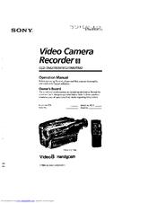 Sony Handycam CCD-TR70 Manuals