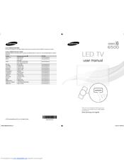 Samsung UN46ES6500 Manuals
