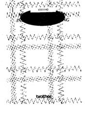 Brother VX1140 Manuals