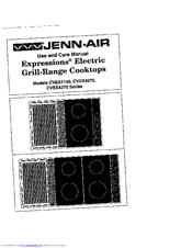 Jenn-air CVEX4370 Series Manuals