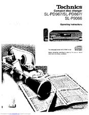 Technics SL-P9066 Manuals