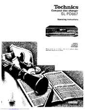 Technics SL-PD667 Manuals
