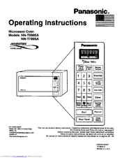 Panasonic Inverter NN-T990SA Manuals