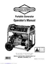 Briggs & Stratton Generator Manuals