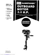 Craftsman GameFisher 298.585190 Manuals