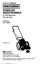 Craftsman 917.773707 Manuals