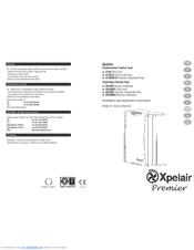Xpelair Premier CF40TD Manuals