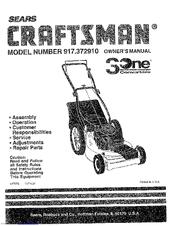 Craftsman 3One 917.372910 Manuals