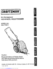 Craftsman 536.773510 Manuals