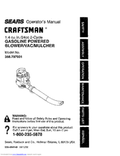 Craftsman 358.797931 Manuals