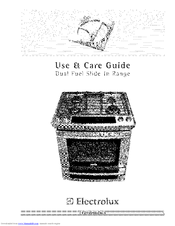Electrolux Dual Fuel Slide-In Range Manuals