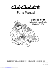 Cub Cadet SLT1554 Manuals