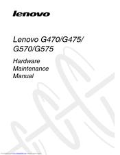 Lenovo G570 Manuals