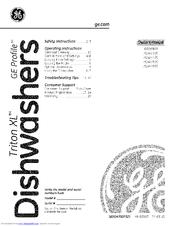 Ge Triton XL GSD6900 Series Manuals