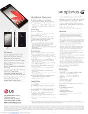Lg LS970 Sprint Manuals