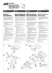 Jvc KD-S6060 Manuals