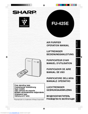 Sharp FU-425E Manuals